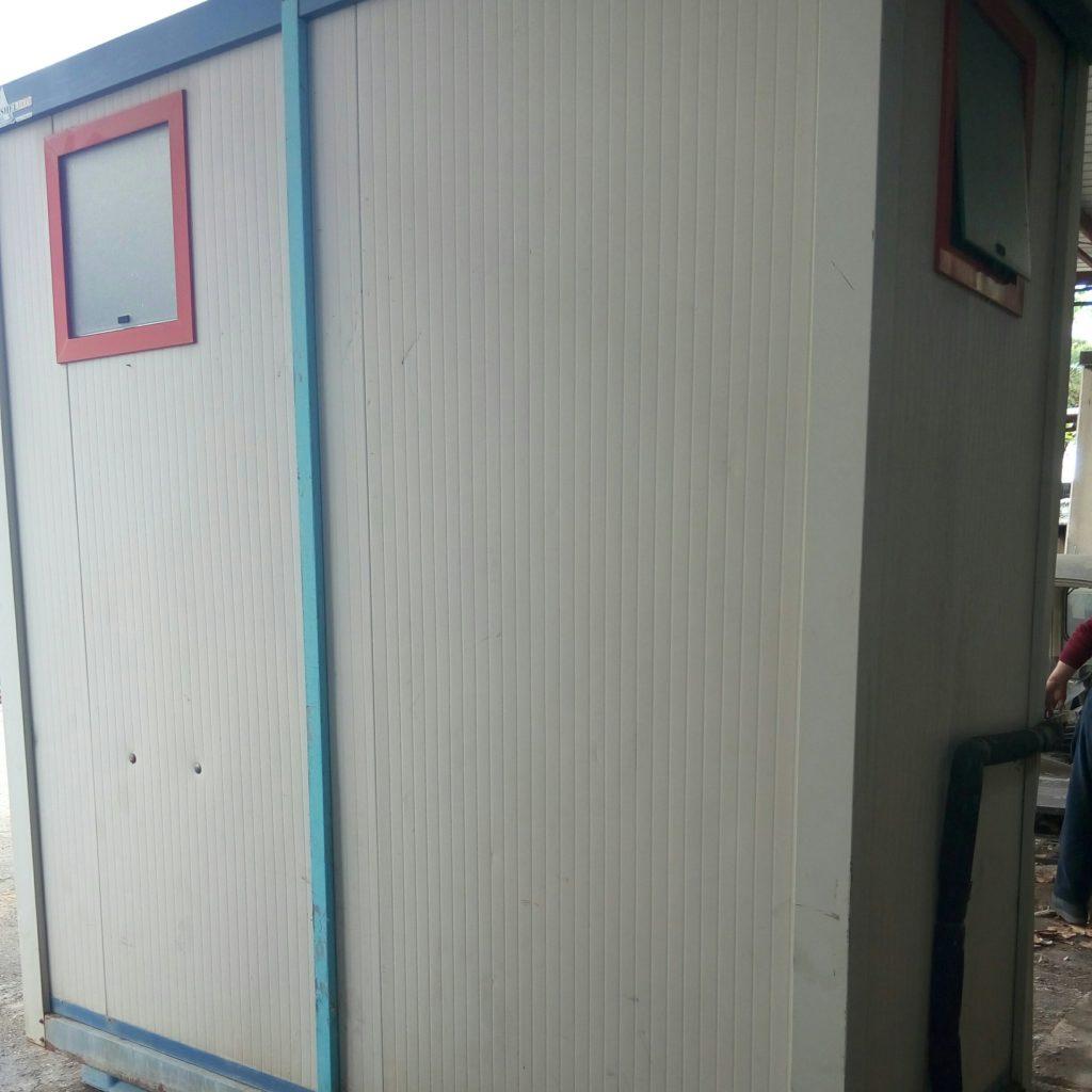 Box bagno prefabbricato da cantiere usato