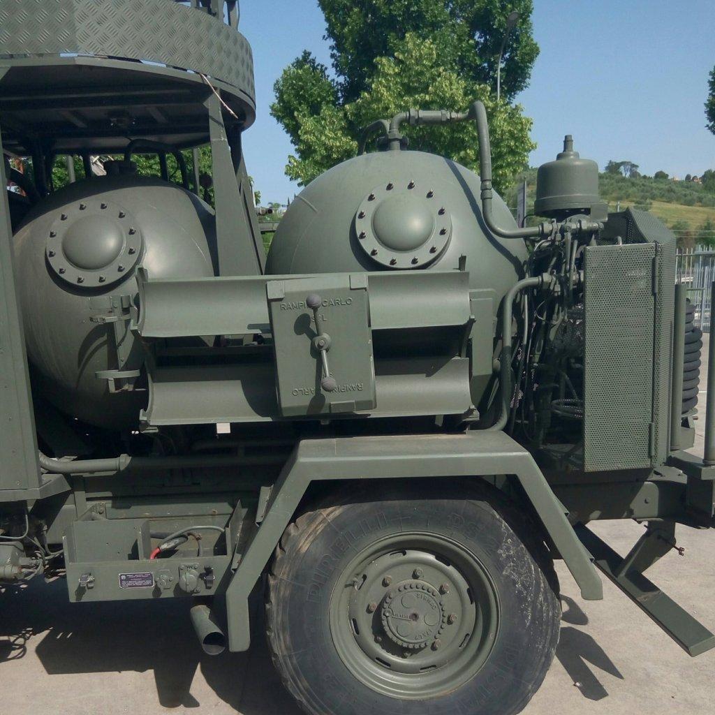 Veicolo antincendio Sirmac Rampini modello Vulcano (17)