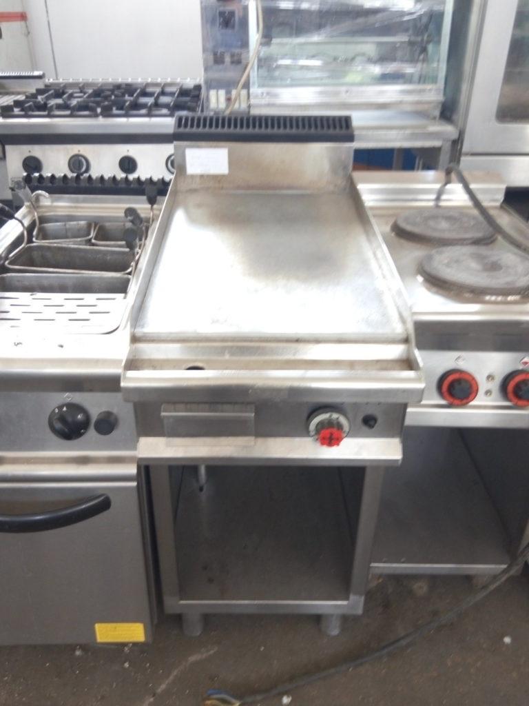 Frytop gas – acciaio inox