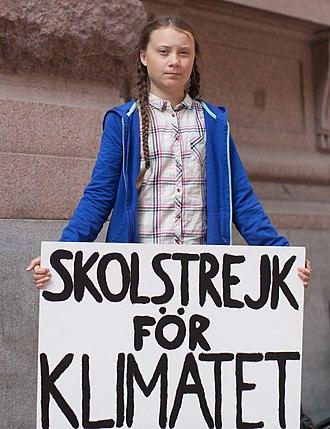 Greta Thunberg | Sciopero della Scuola per il Clima