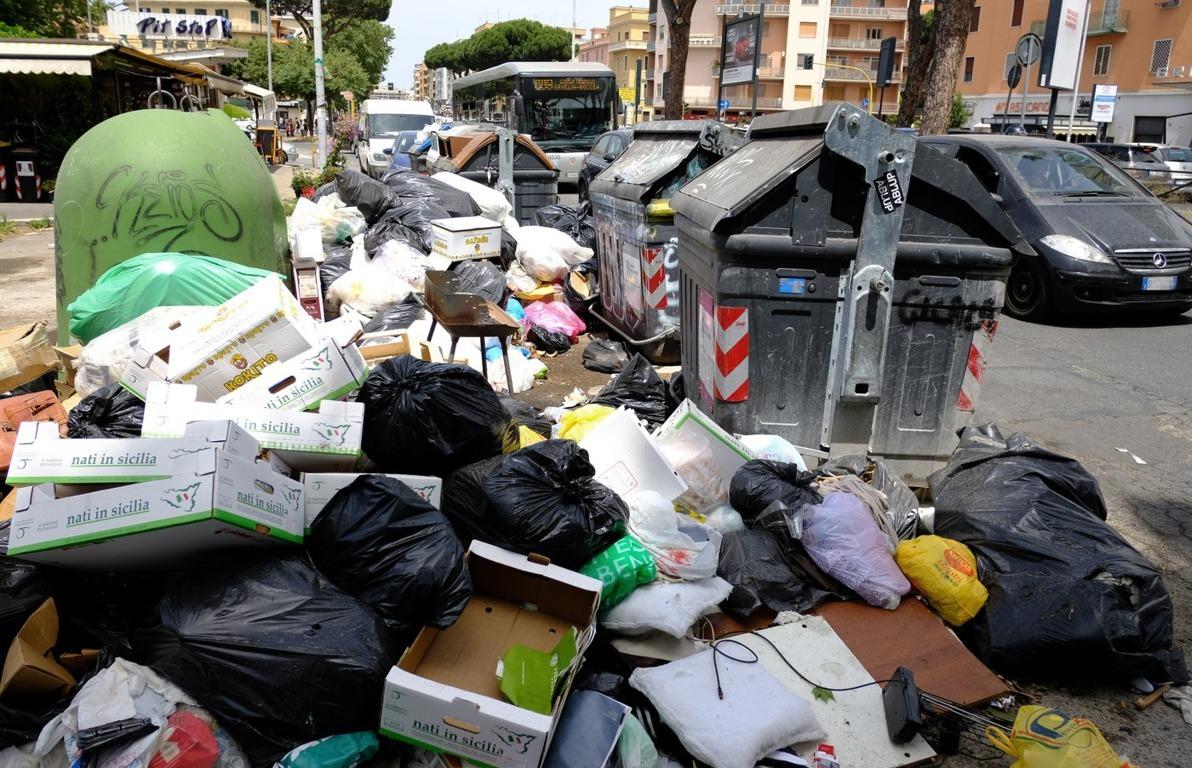 rifiuti a roma 2019