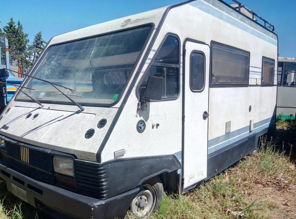 Camper autocaravan Ducato Fiat 280 per campeggio usato (4)