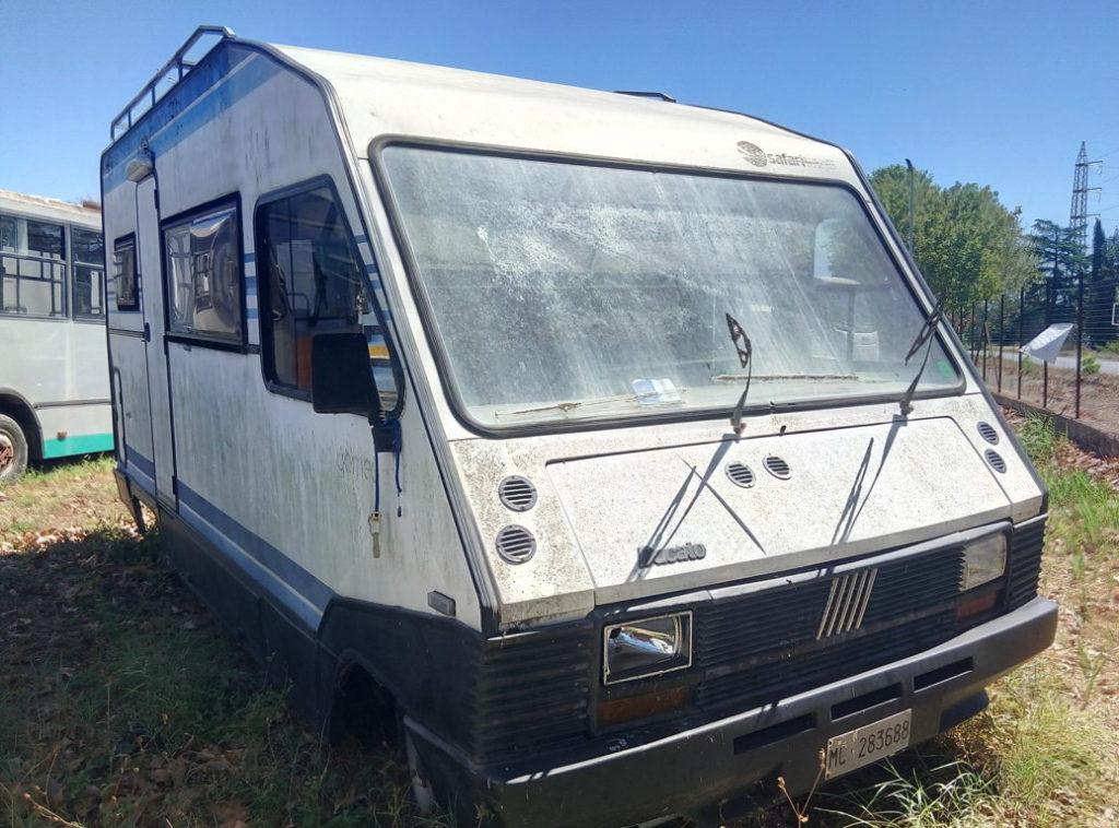 Camper autocaravan Ducato Fiat 280 per campeggio usato (7)