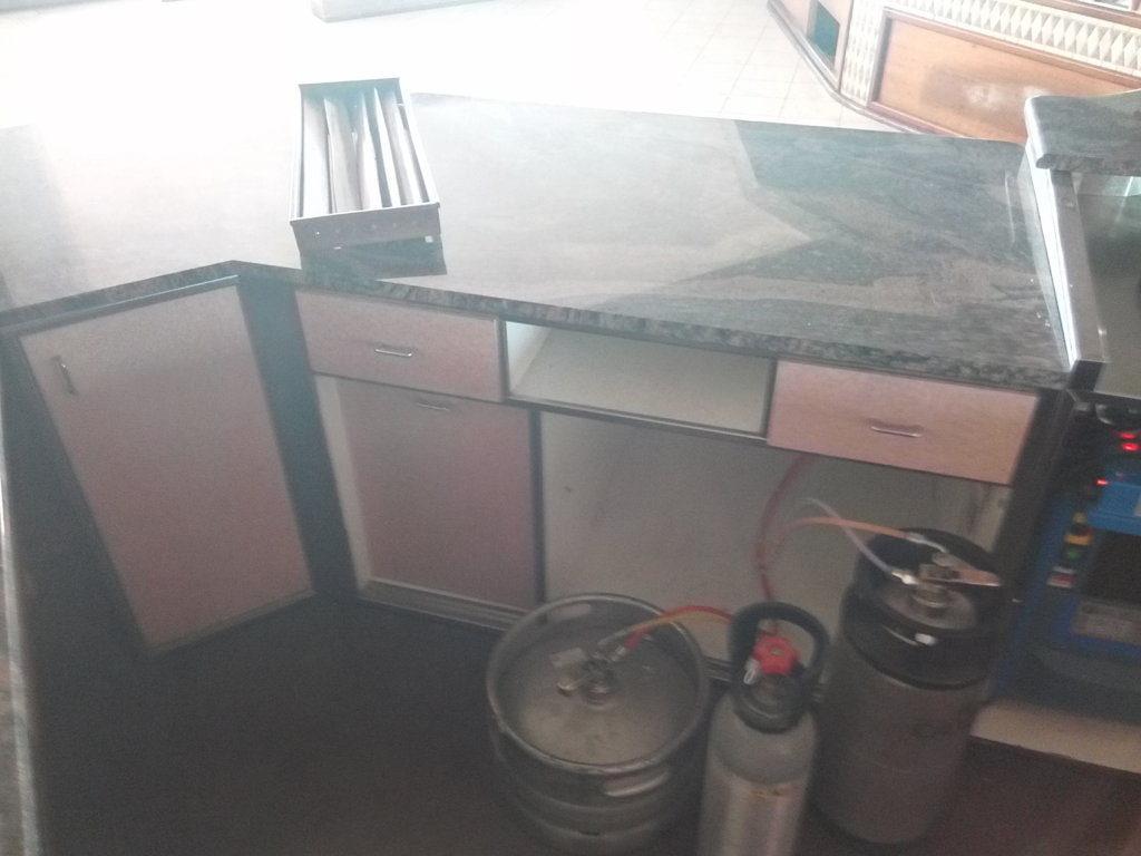 Bancone completo per bar o gelateria (6)