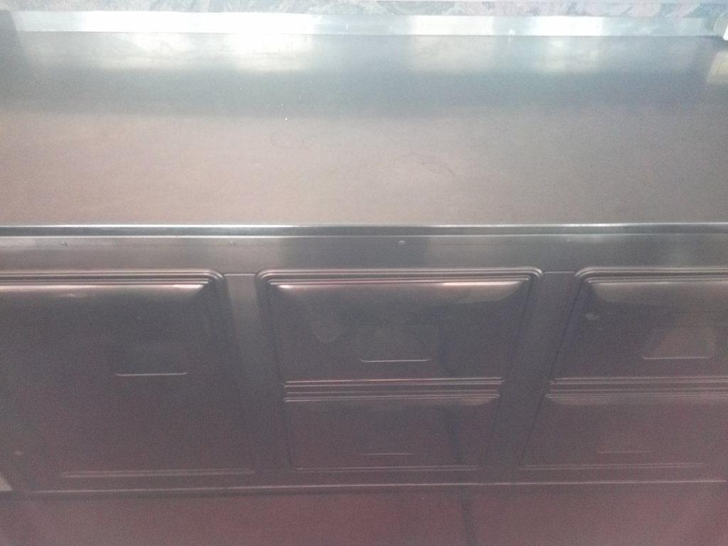 Bancone completo per bar o gelateria (7)