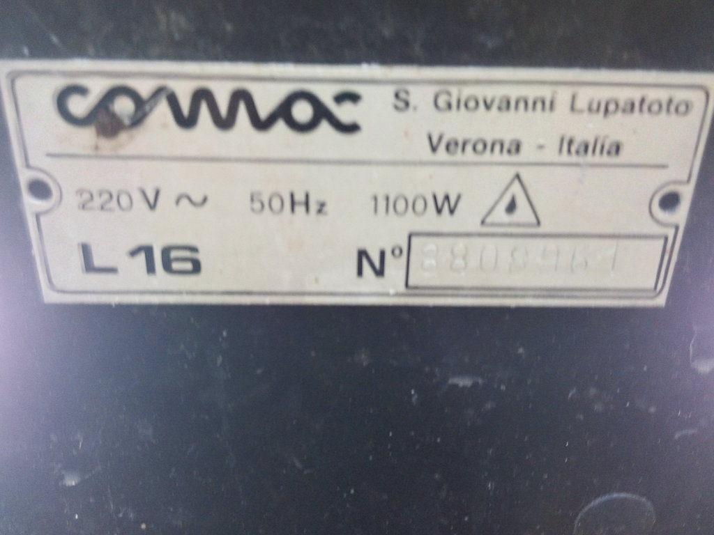 Pulitrice comac L-16 (3)