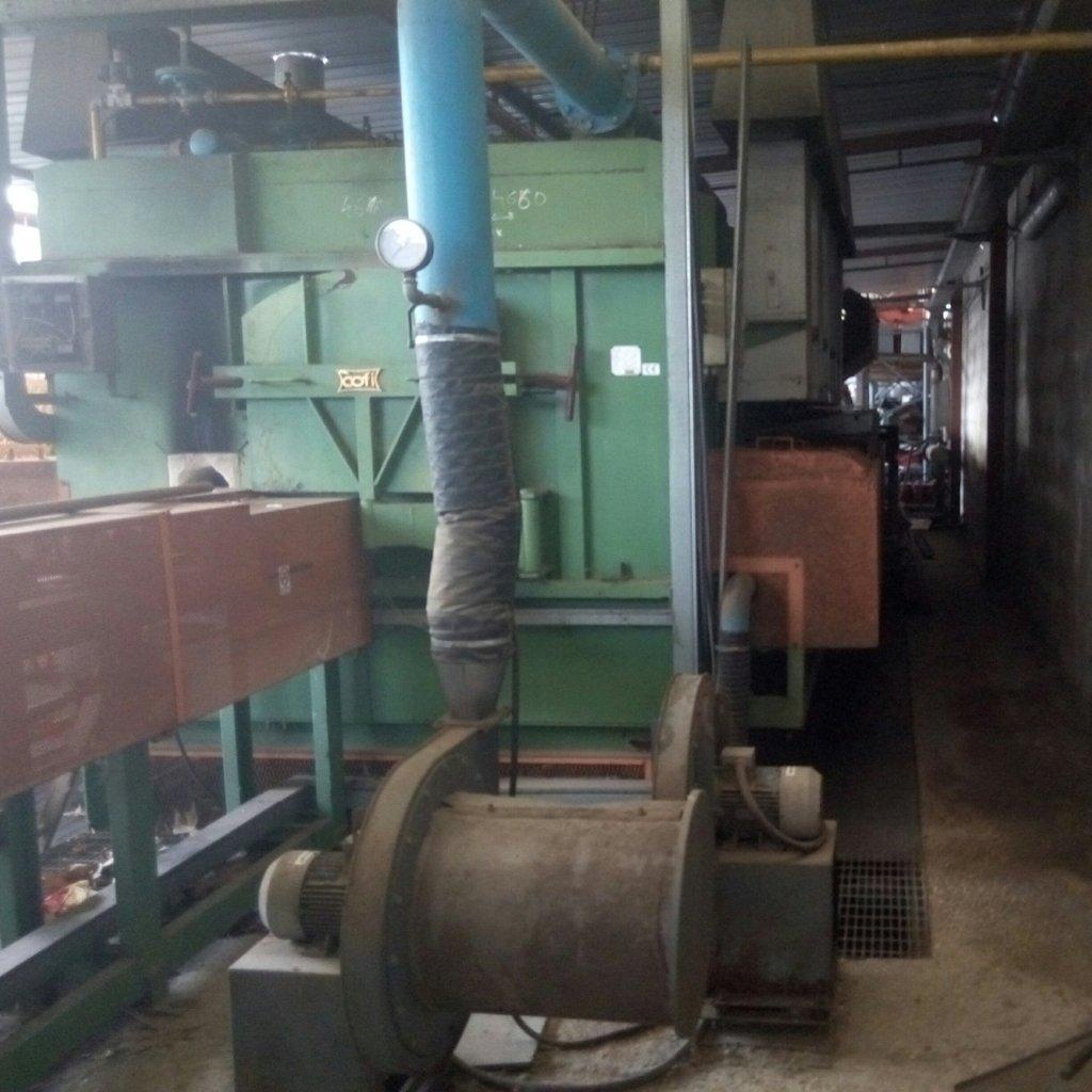 Forno industriale Cofi con impianto di ventilazione Moro – usato Pomilids (6)