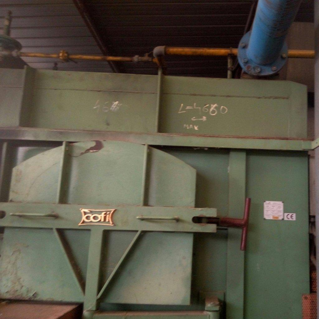 Forno industriale Cofi con impianto di ventilazione Moro – usato Pomilids (7)
