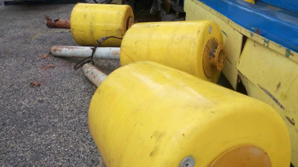 Boe di segnalazione per cantieri in mare – acqua – usato (11)