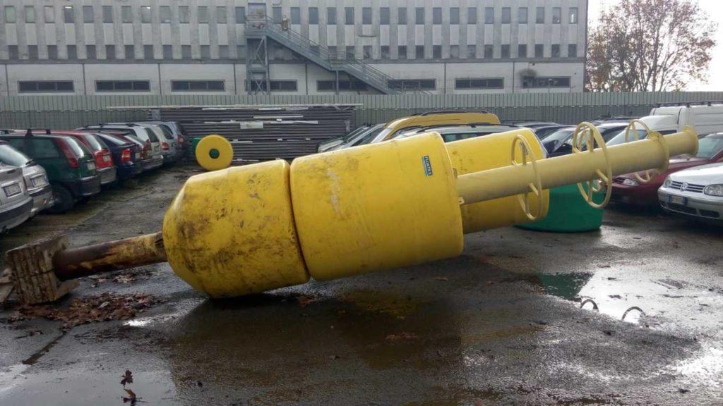 Boe di segnalazione per cantieri in mare – acqua – usato (4)