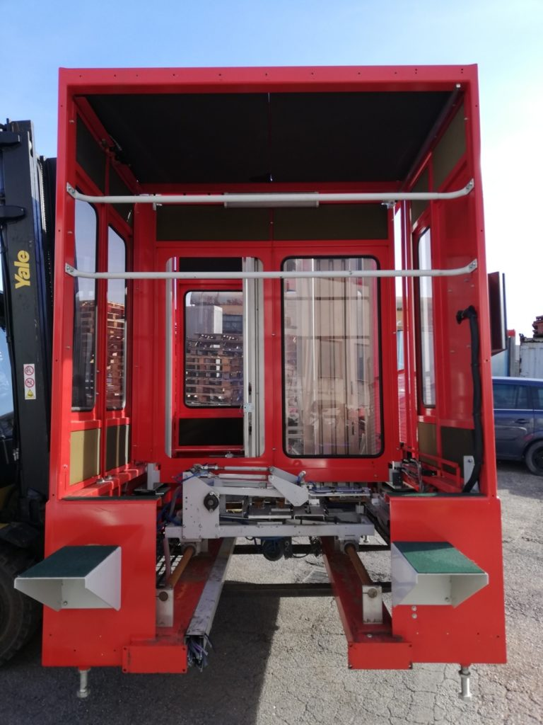 Cabina rossa usata (2)