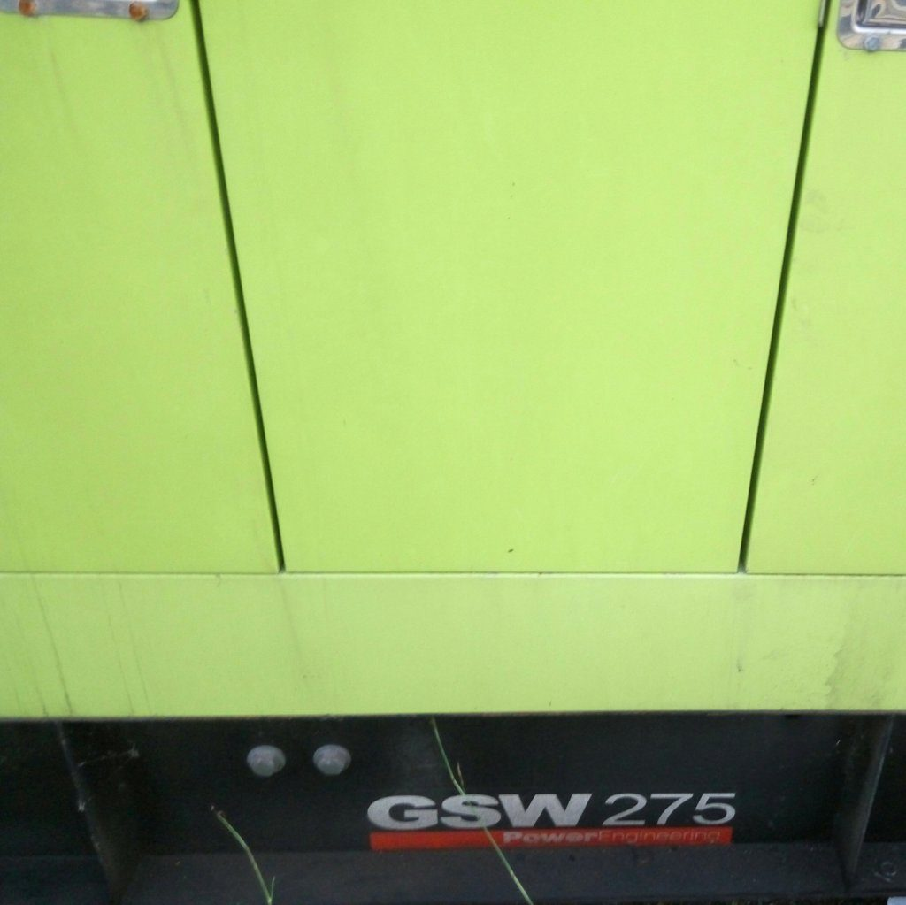 Gruppo elettrogeno – GSW 275 – usato (6)