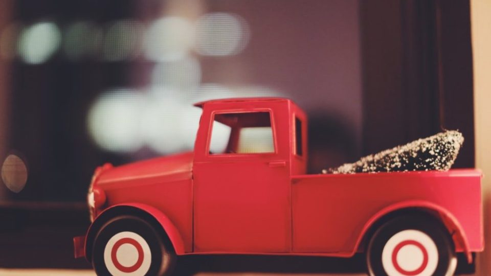 camioncino rosso – Natale