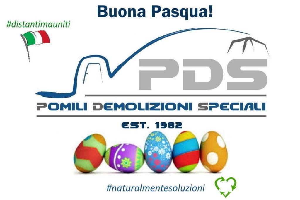 Buona Pasqua 2020 | Pomili Demolizioni Speciali SRL