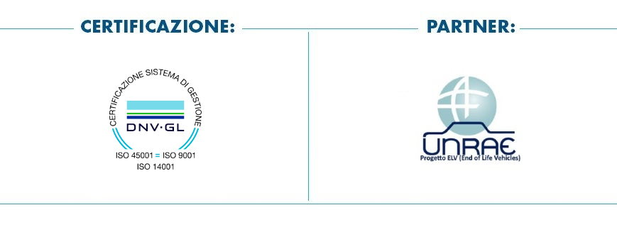 Pomili Demolizioni Speciali srl adotta il Sistema di Gestione certificato ISO 9001 - 14001 - 45001 ed è partner UNRAE
