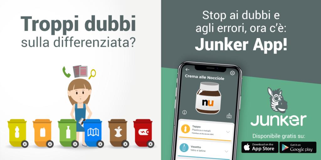 Junker | Junkerapp per una corretta raccolta differenziata