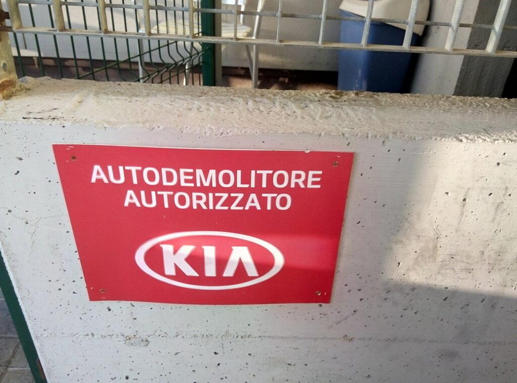 Autodemolizione autorizzata Kia Motors – Pomili Demolizioni Speciali