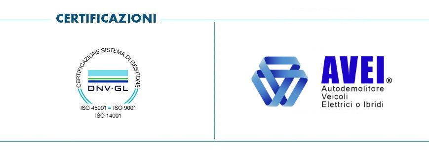 Pomili Demolizioni Speciali srl adotta il Sistema di Gestione certificato ISO 9001 - 14001 - 45001 (Qualità, Ambiente, Sicurezza sul Lavoro) ed è partner UNRAE
