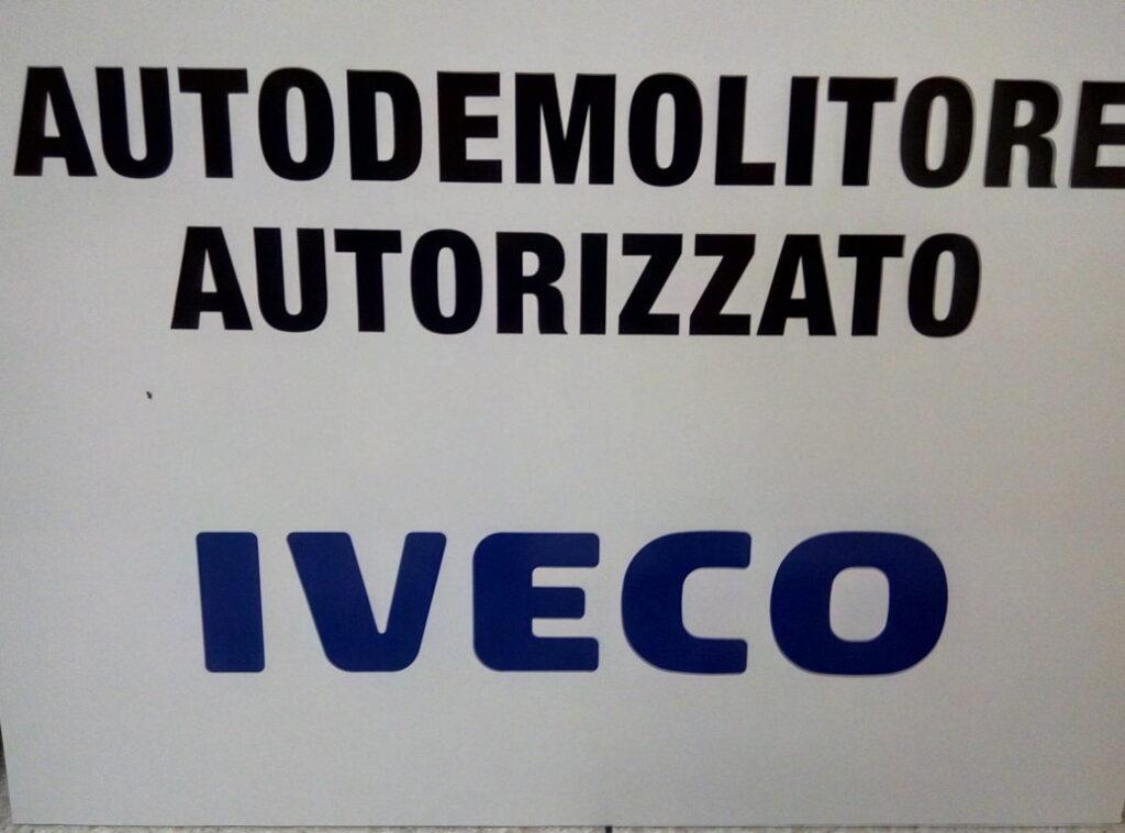 Pomili Demolizioni Speciali autorizzato (Iveco)
