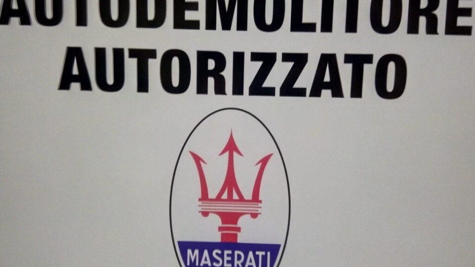 Pomili Demolizioni Speciali autorizzato (Maserati)