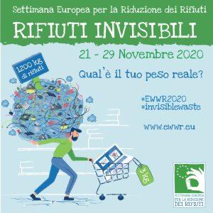Settimana Europea per la Riduzione dei Rifiuti 2020: rifiuti invisibili