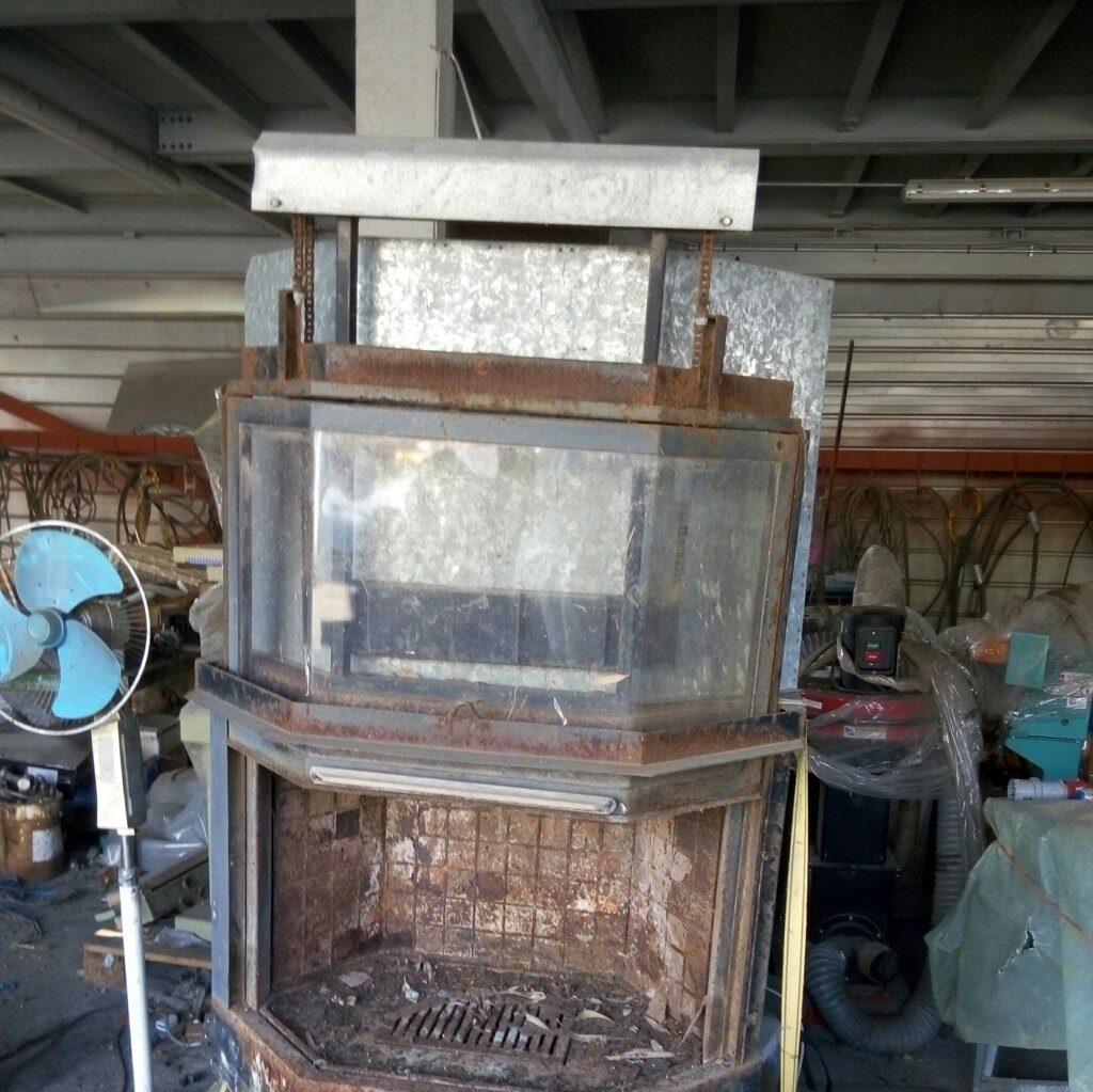 termocamino ventilato