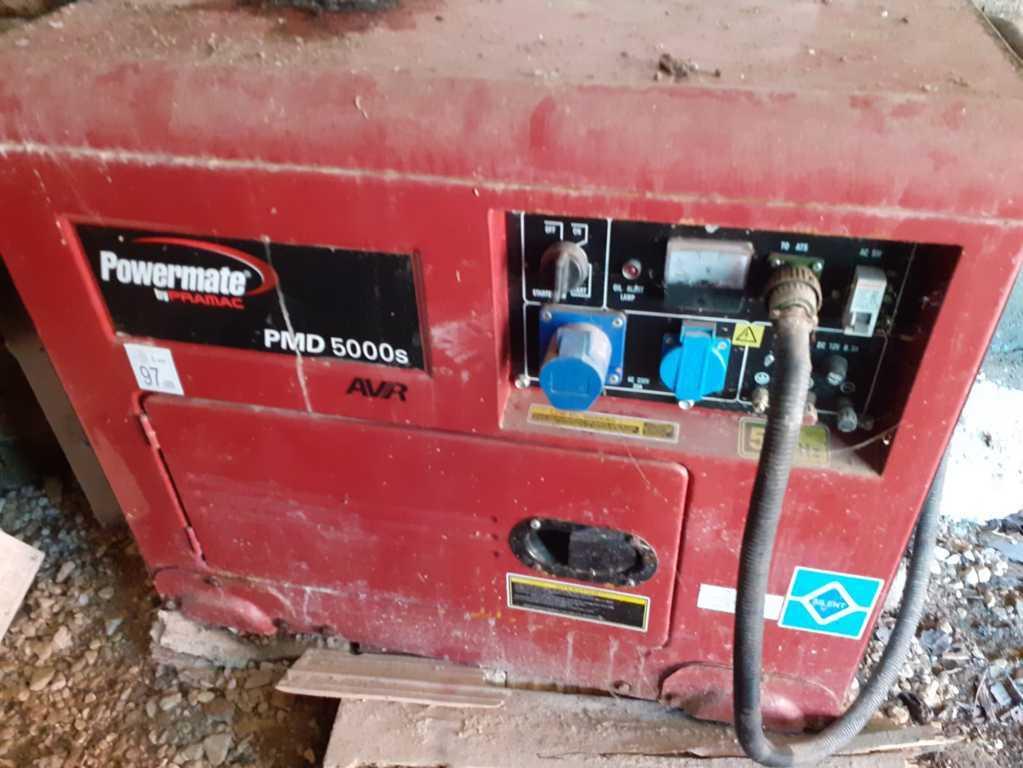 Gruppo Elettrogeno Powermate by Pramac PMD 5000s AVR