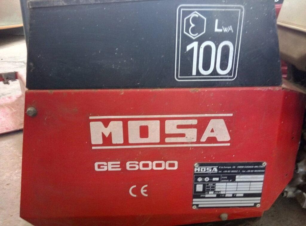 generatore Mosa GE 6000