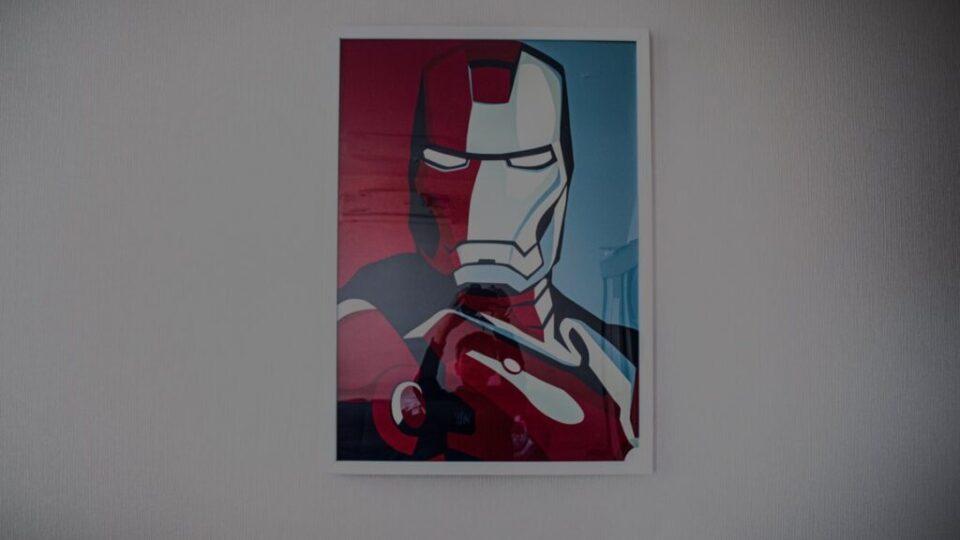 Iron man   Poster   Klim Musalimov