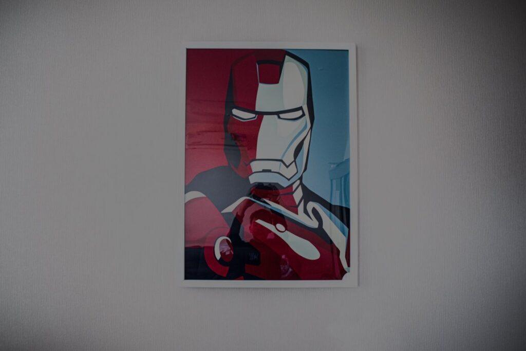 Iron man | Poster | Klim Musalimov