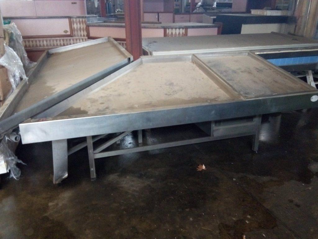bancone acciaio per pescheria usato – pomilids 1