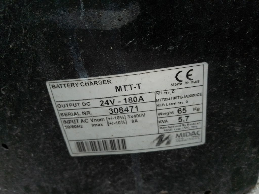 Caricabatterie MIDAC BATTERIES