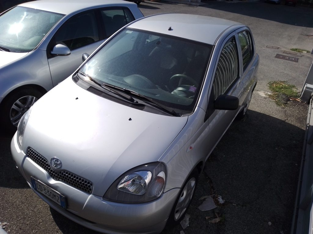 Toyota Yaris 1400cc 55Kwh anno 2002