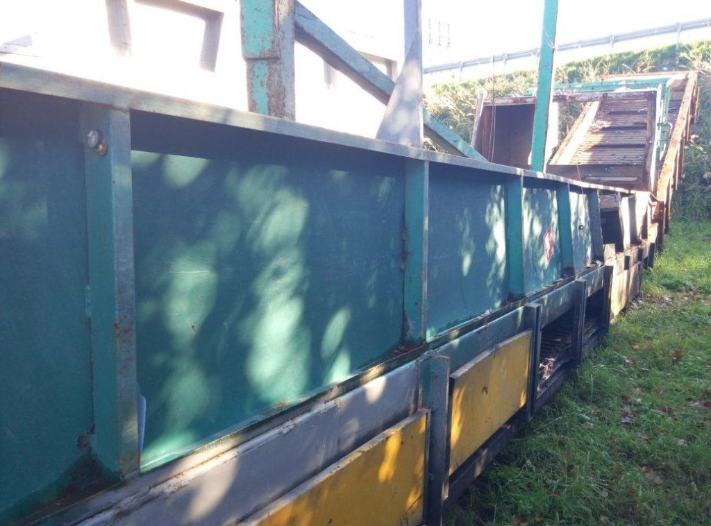 Nastro trasportatore per pressa industriale n°2