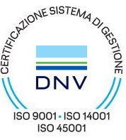 ISO 9001 ISO 14001 ISO 45001 | DNV | Certificazione di Sistema di Gestione di Pomili Demolizioni Speciali srl