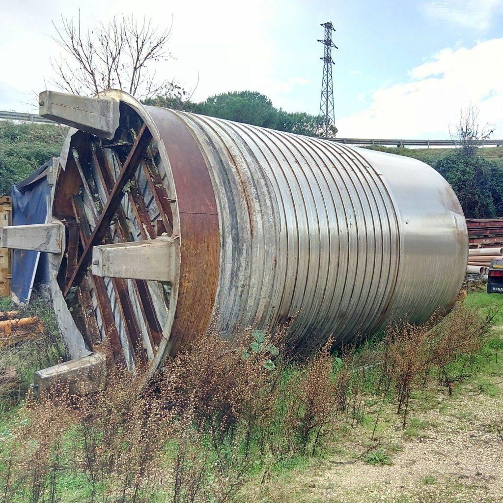 cisterna acciaio inox 25mila lt