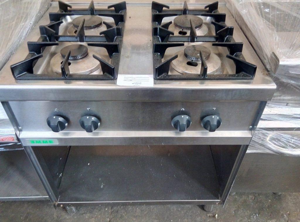 cucina 4 fuochi serie 70 senza forno