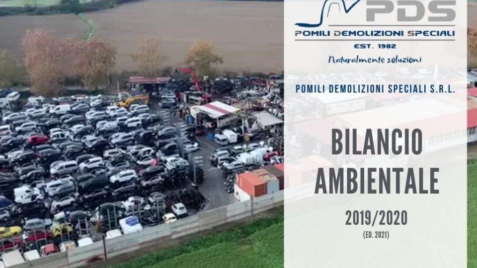 Bilancio ambientale 20192020 (ed. 2021) – Pomili Demolizioni Speciali SRL